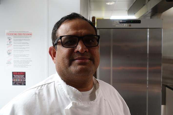 head chef Krishna Negi