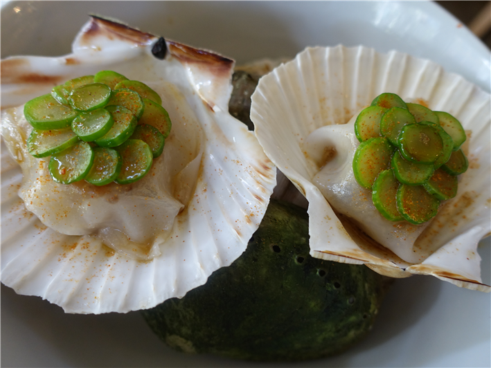 scallop cheung fun