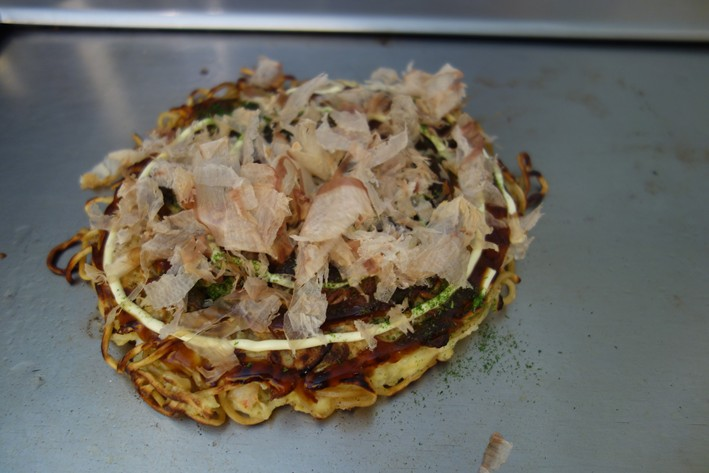 finished okonomiyaki