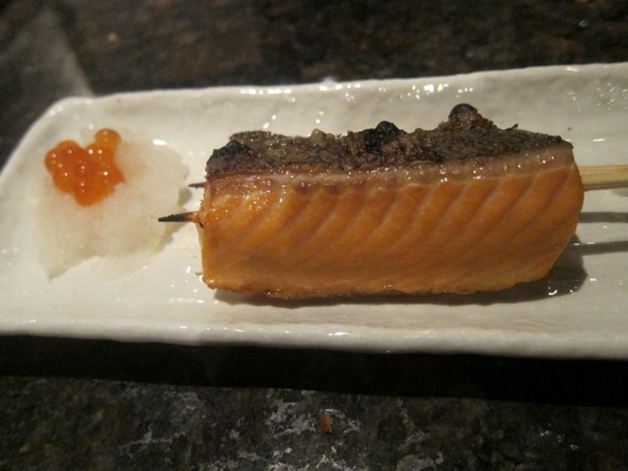 salmon with its roe