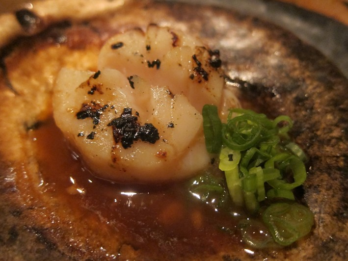 scallop in soy