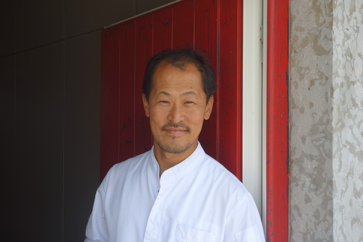 head chef Sang-Hoon Degeimbre