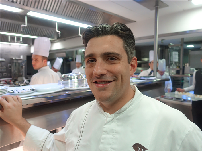 head chef Jean Philippe Blondet (2016)