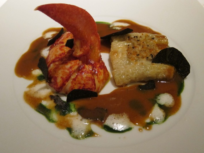 lobster and truffle