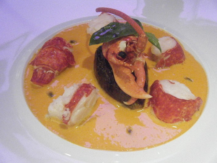 lobster and fig