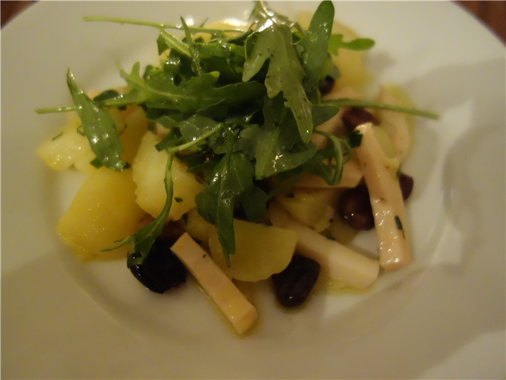 cuttlefish and potato salad