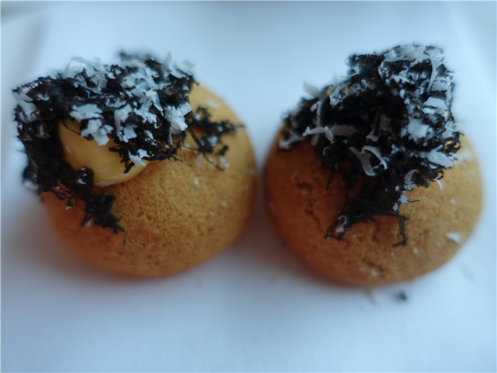 gougeres with truffles