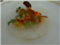 lobster salad with nectarine