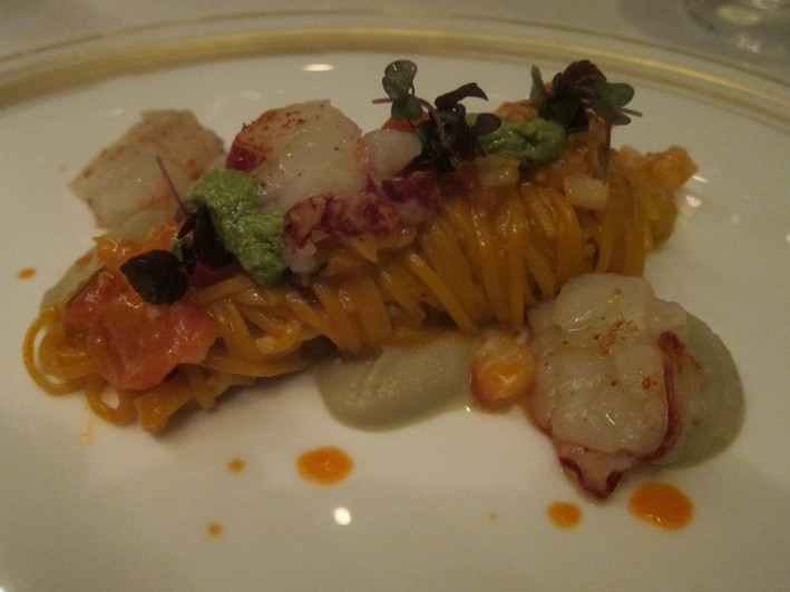 tagliolini of lobster