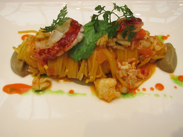 tagliolino of lobster