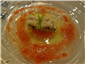 anago with tomatoes