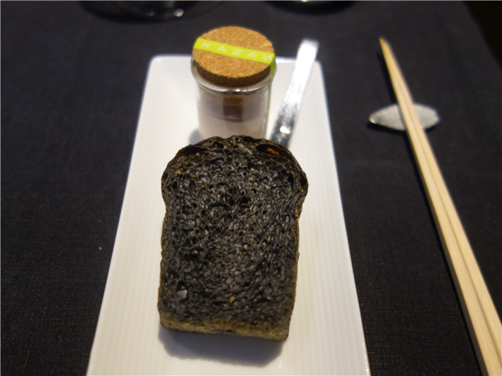 black sesame bread