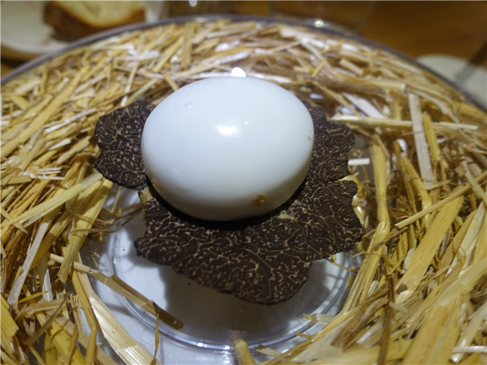 egg and truffle