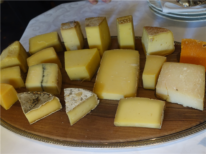 hard cheese selection