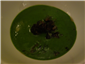 parsley soup with snails and black pudding