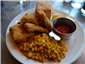 catfish and corn