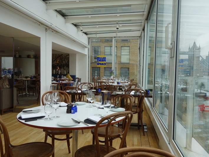 Blueprint cafe restaurant review 2013 january london british dining room view 2 dining room view 3 malvernweather Images