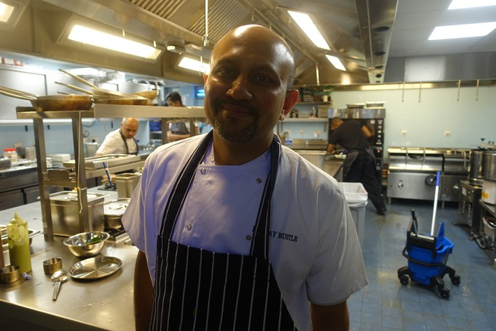 head chef Bhaskar Banerjee