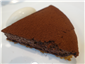 chocolate sabayon tart