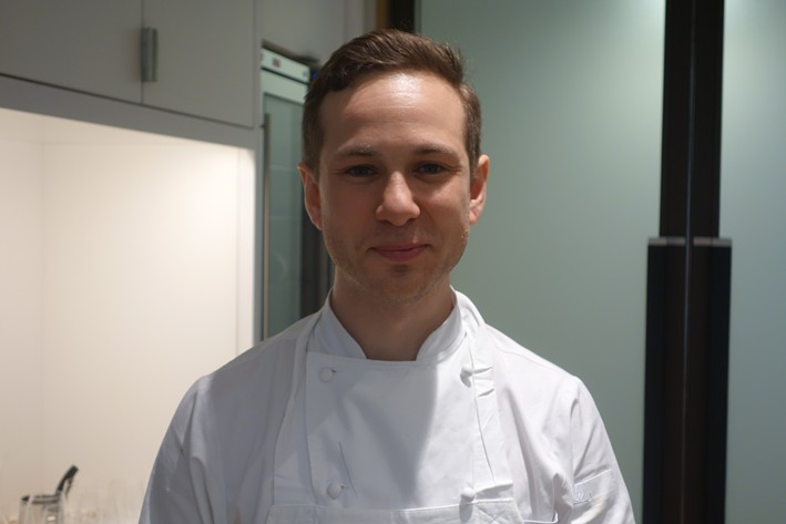 former head chef Tom Kemble