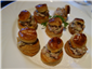 vol au vents with bacon and mushrooms