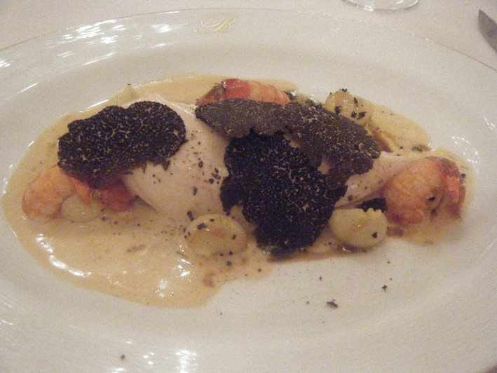 Bresse hen with truffles