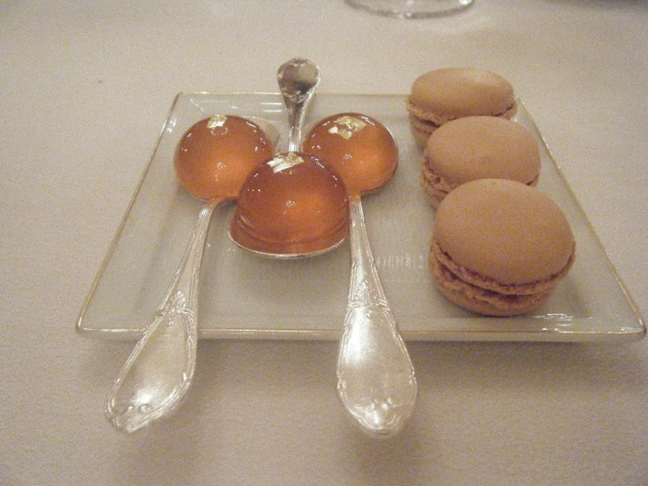 jelly and macaroons