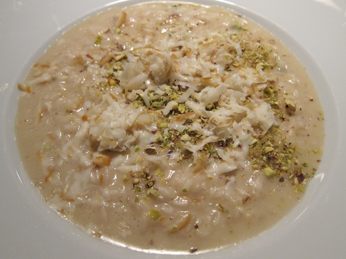 risotto of pecorino cheese