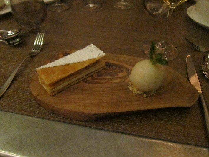 pear millefeuille