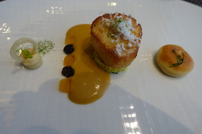 scallop with curry sauce