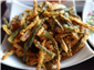 deep fried bhindi