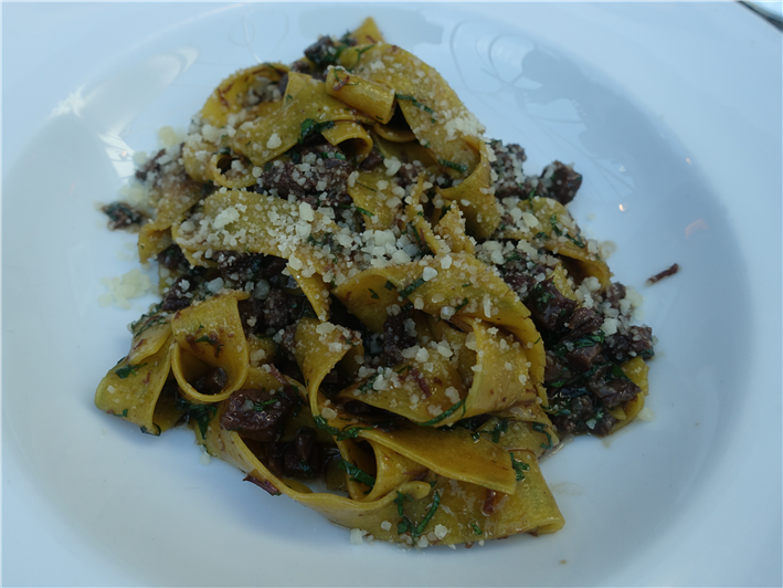 pappardelle with ox cheek