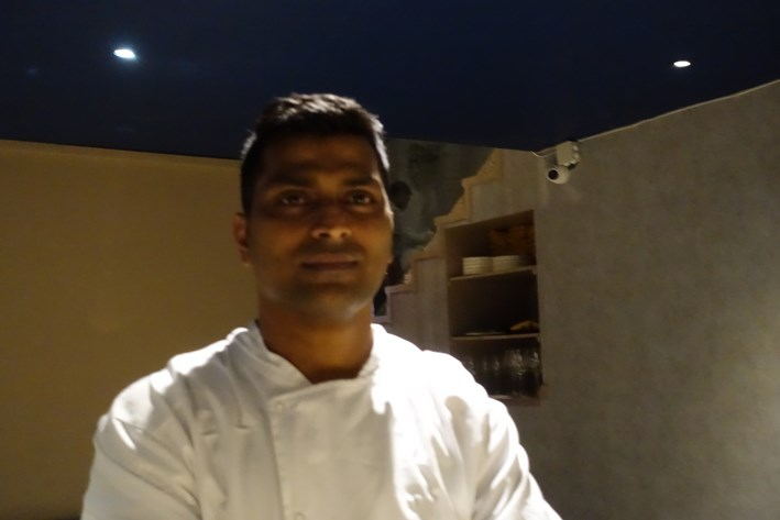head chef Sunil de Souza