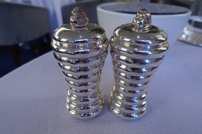 Michelin condiment holders