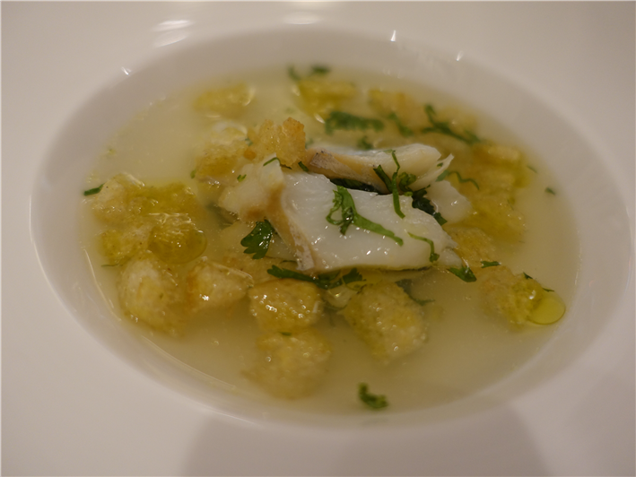 salt cod broth