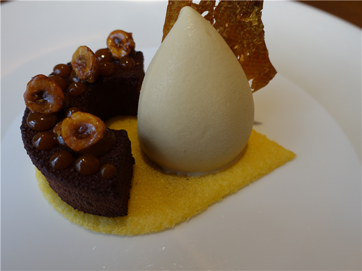 chocolate cremant dessert