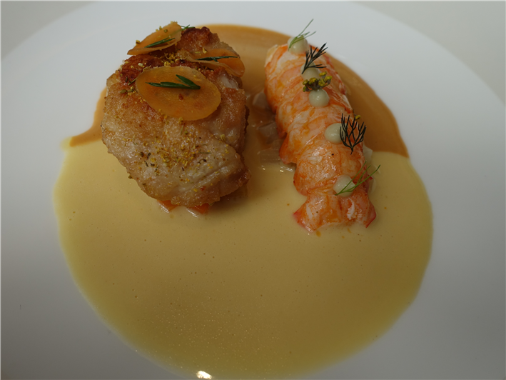 langoustine and sweetbread