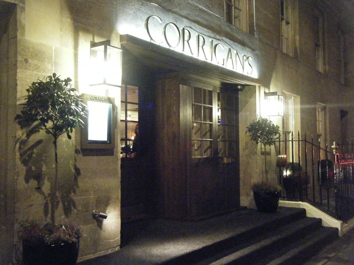 entrance & Corriganu0027s Mayfair restaurant review 2010 July London | British ...