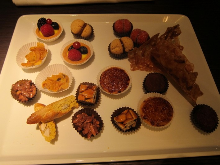 petit fours in August 2012