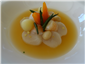 scallop and prawn nage