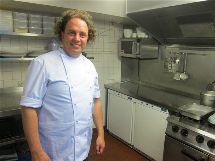 head chef Simon Bonwick