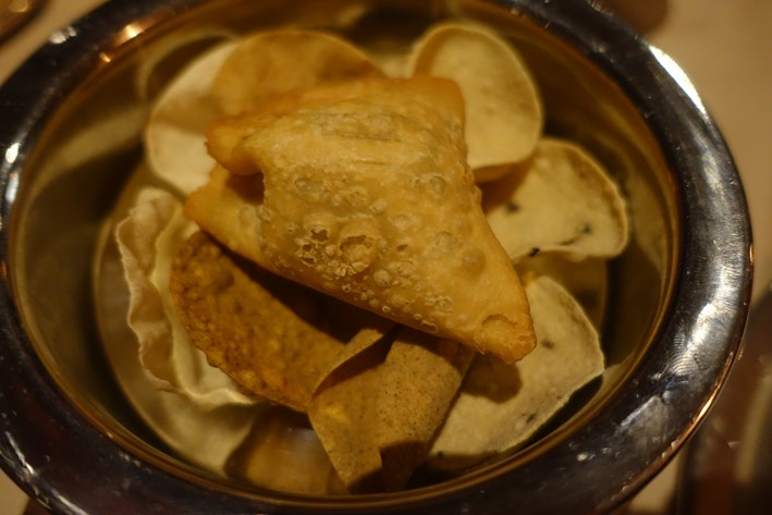 samosa and popadoms