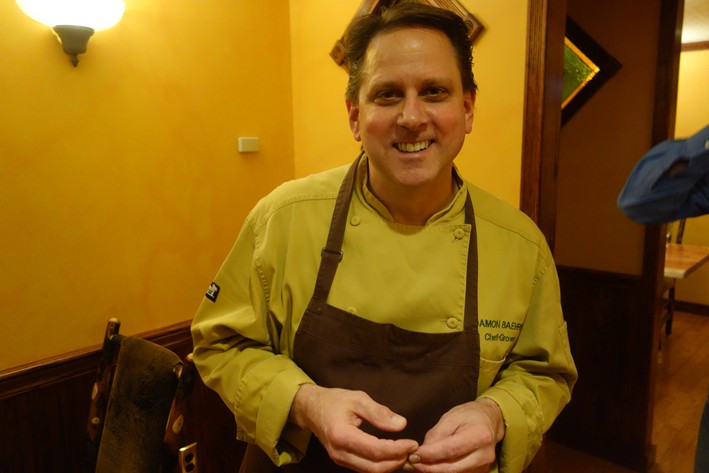 chef and owner Damon Baehrel