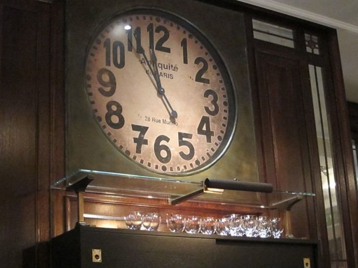 clock close up