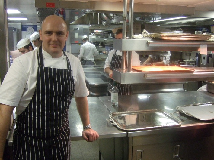 former head chef Aiden Byrne