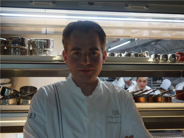 former head chef Christophe Marleix