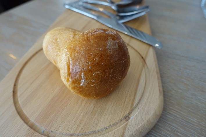 rum baba served