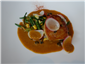 scallop with paprika sauce