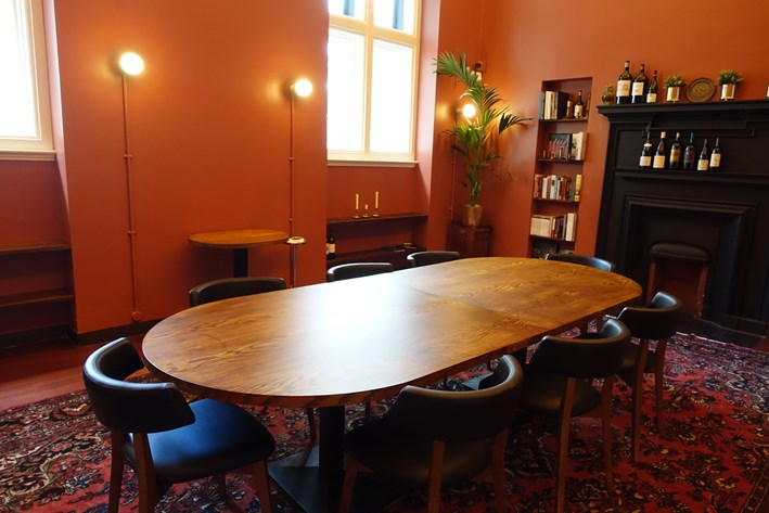 larger private dining room