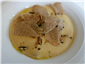 veal with white truffle added